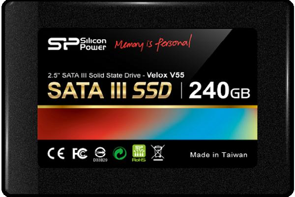 نگاهی به حافظه اساسدی 240G Silicon Power Velox V55