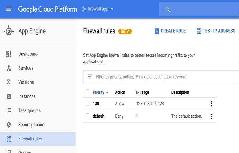تا چه اندازه با دیوارآتش سرویس App Engine گوگل آشنا هستید؟