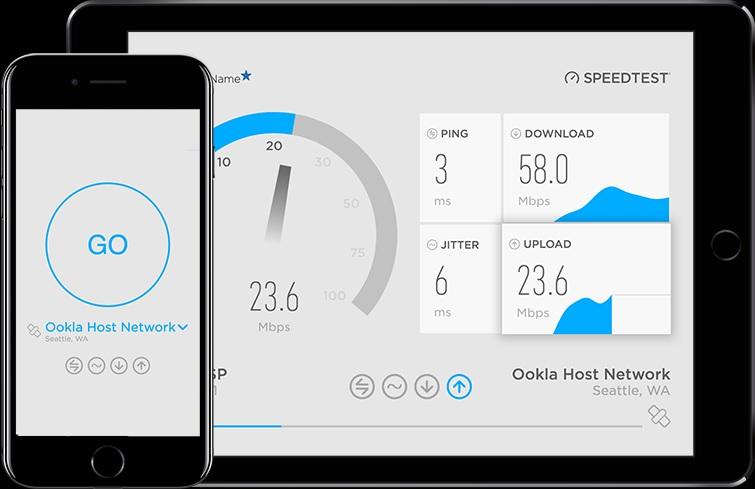 با Speed Test سرعت اینترنت خود را به سادگی آزمایش کنید