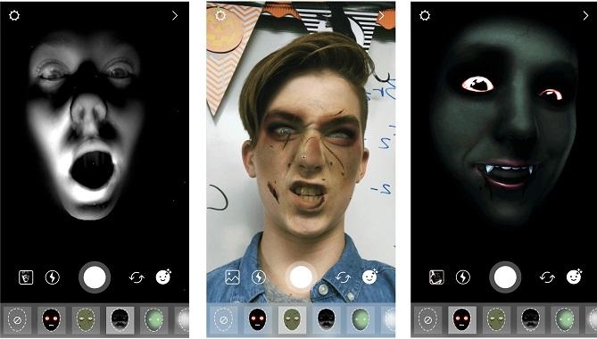 فیلترهای هالووینی به اینستاگرام اضافه شدند + عکس