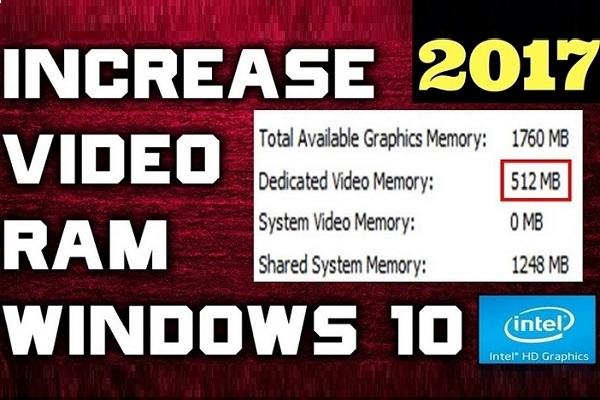 چگونه حافظه گرافیکی در ویندوز 10 را افزایش دهیم؟