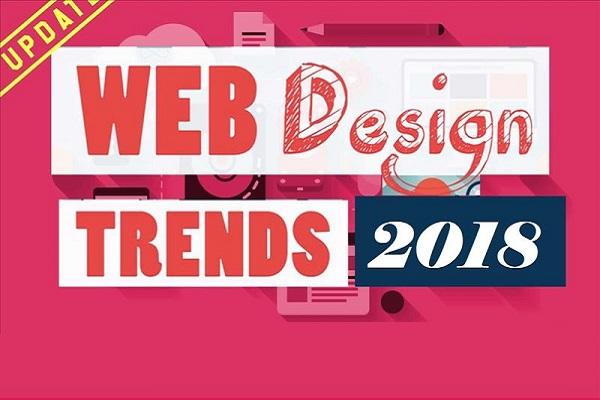 12 روند برتر طراحی وب در سال 2018
