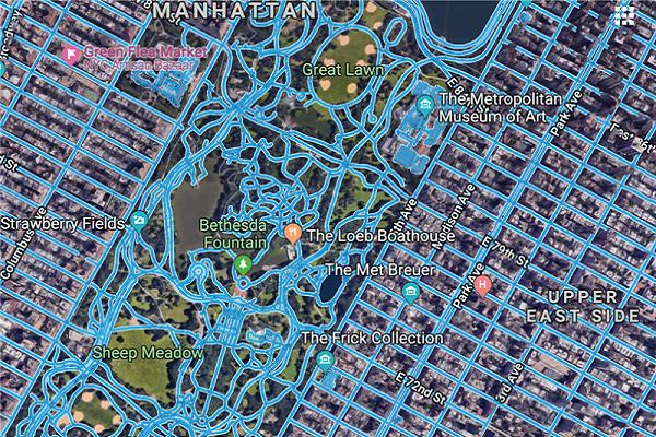 نقشهبرداری از جادهها با عکسهای هوایی
