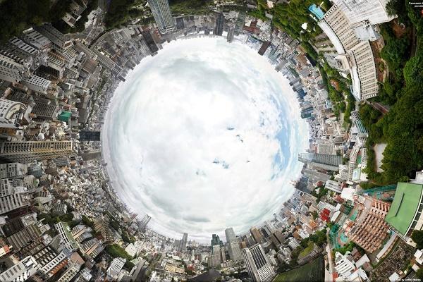 گالری عکس: دومین عکس بزرگ دنیا یک پانورامای 360 درجه کامل از توکیوی ژاپن است