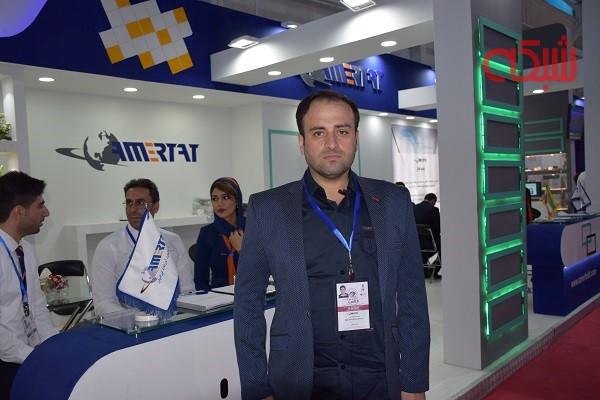 تماشا کنید: صحبتهای مدیر عامل شرکت آمرتات ایرانیان در نمایشگاه الکامپ