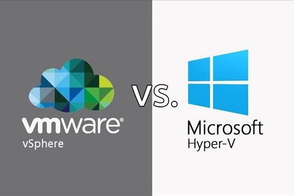 مقایسه دو محصول مجازیساز VSphere و Hyper-V