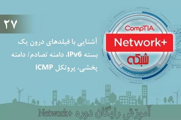 آموزش رایگان دوره نتورکپلاس (+Network) آشنایی با بستههای IPv6، دامنه تصادم/پخشی، پروتکل ICMP (بخش 27 )
