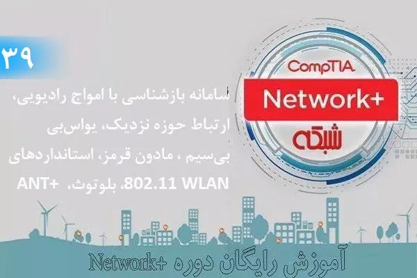آموزش رایگان دوره نتورکپلاس (+Network) استانداردهای 802.11 WLAN، NFC،IR  (بخش 39 )