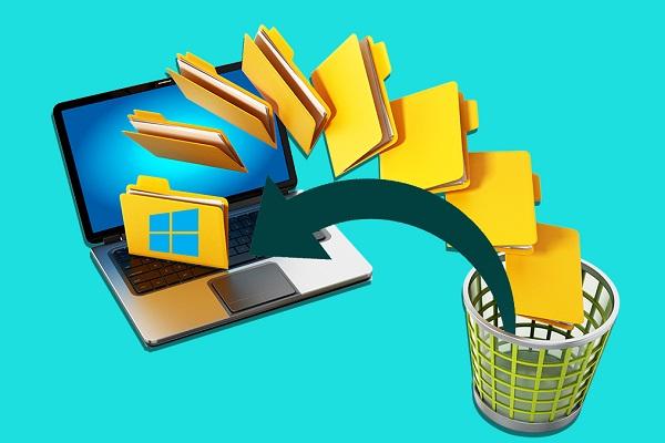 چگونه فایلهای حذف شده را از درون فولدرها در Recycle Bin بازیابی کنیم