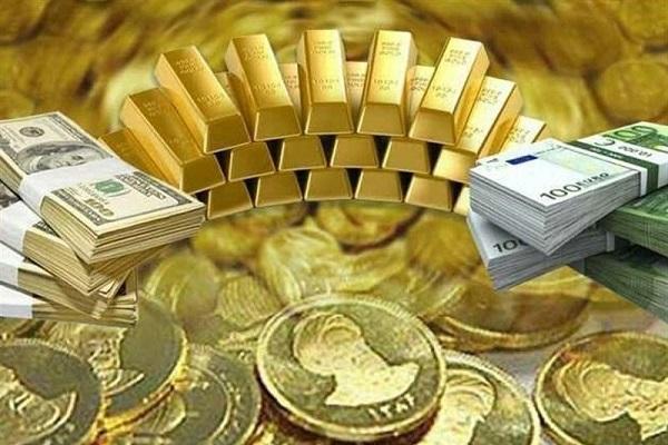 قیمت امروز سکه طلا دلار و سایر ارزها