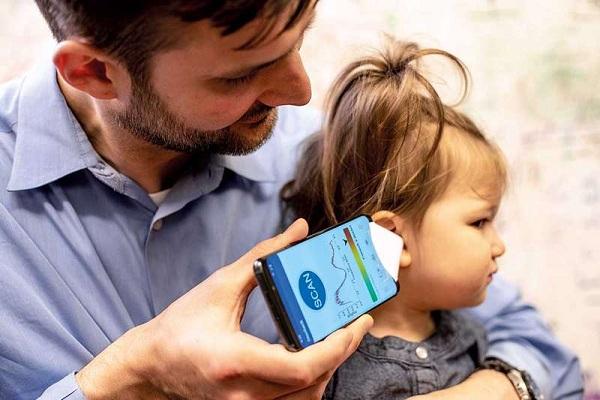 نرمافزاری برای معاینه گوش کودک