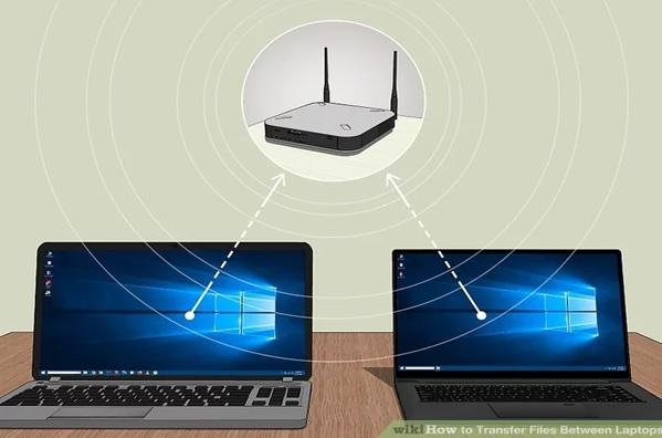 چگونه از طریق روتر یا مودم از یک کامپیوتر یا گوشی به دستگاه دیگر فایل ارسال کنیم