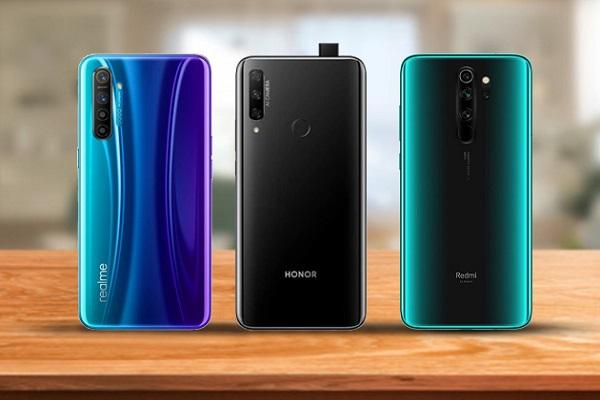مقایسه فنی سه میانرده بازار  Honor 9X، Redmi Note 8 و Realme X2