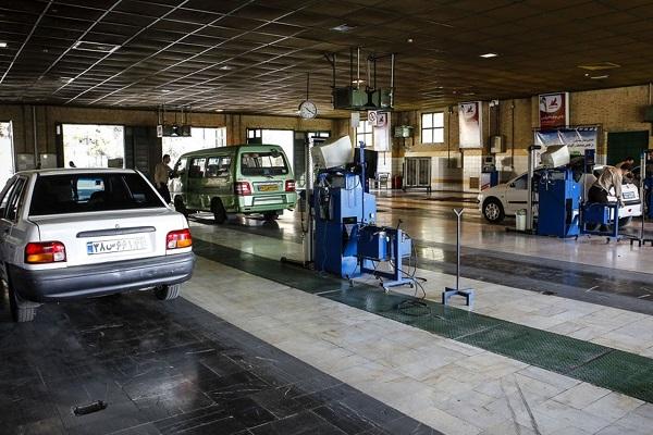 نرخ معاینه فنی خودرو در سال 99