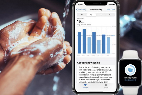 چگونه ابزار تشخیص شست و شوی دست را بر روی اپل واچ فعال کنیم؟