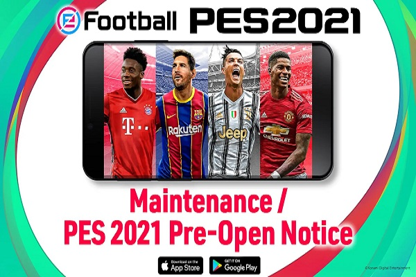 دانلود بازی فوتبال PES 2021 برای گوشی اندروید
