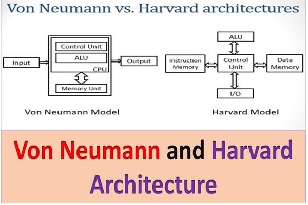 معماری هاروارد و ون نویمان چه تفاوتهایی با یکدیگر دارند؟
