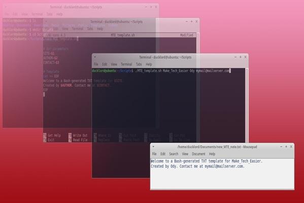 راهنمای گام به گام اسکریپتنویسی لینوکس و بهکارگیری فایلهای ورودی
