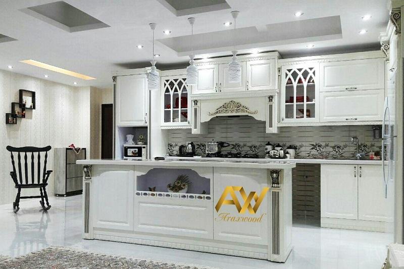 کابینت آشپزخانه اپن بهتر است یا جزیره ؟