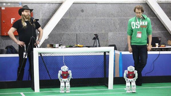 مسابقات ربوکاپ ایران 2015 - روز نخست