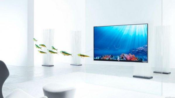 تلویزیون کاغذی الجی با ضخامت کمتر از یک میلیمتر