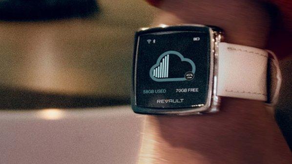 ساعت هوشمندی که حافظه بیسیم مبتنی بر کلاود دارد