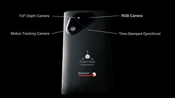پروژه تانگو درون یک تلفن هوشمند