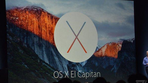 اپل سیستمعامل مک El Capitan را معرفی کرد
