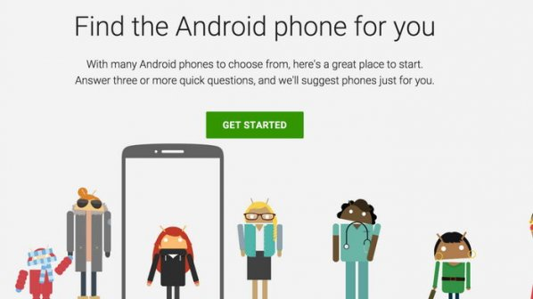 اجازه دهید گوگل تلفن آندرويد شما را انتخاب کند