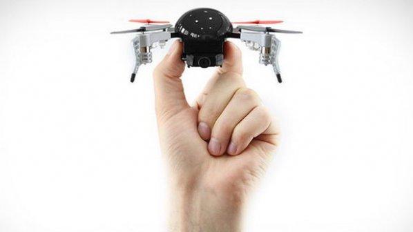 کوچکترین روبات پرنده با قابلیت پخش زنده و واقعیت مجازی