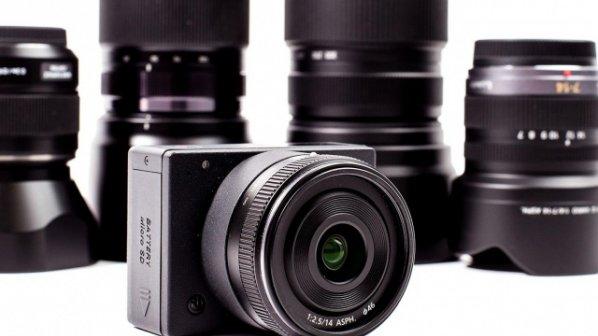 کوچکترین دوربين 4K دنیا با قابلیت تعویض لنز