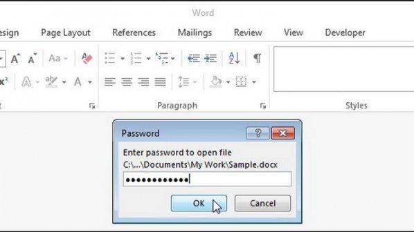 چگونه فایلهای ورد را رمزگذاری کنیم
