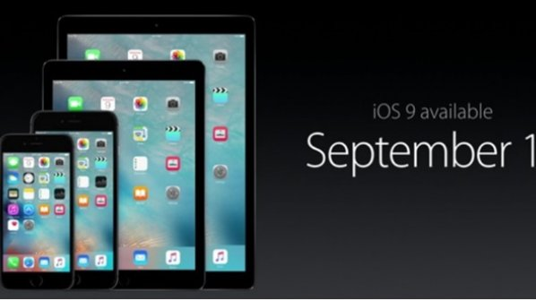 iOS 9 در تاریخ 16 سپتامبر عرضه خواهد شد