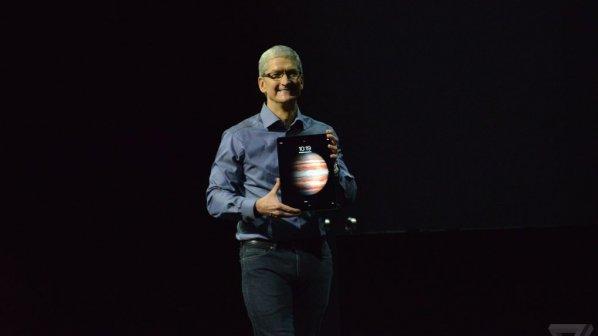 تبلت جدید اپل با قلم و کیبورد مخصوص رونمایی شد