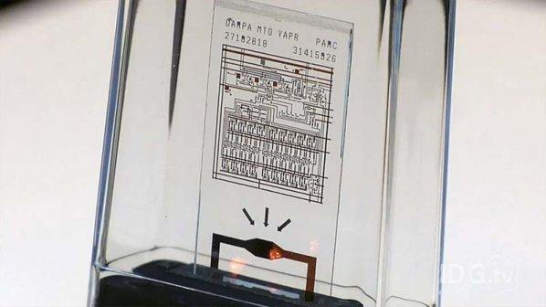 ویدیو: تراشهای که در ده ثانیه خودش را منفجر میکند!
