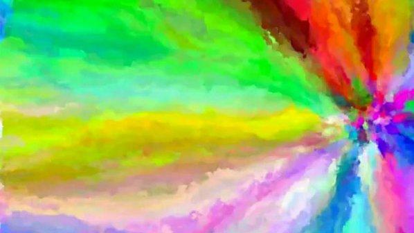 ویدیو: رنگینکمان دودی از 17 میلیون رنگ دیجیتالی