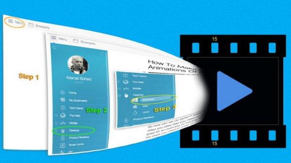 چگونگی ساخت ویدیو و انیمیشنهای GIF از اسکرینکست