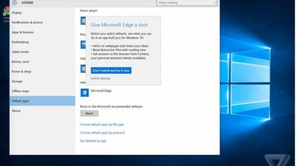 مایکروسافت اجازه نمیدهد در ویندوز 10 از کروم و فایرفاکس استفاده کنید!