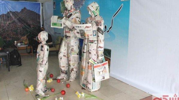 نمایشگاه مطبوعات امسال با شعار «نقد منصفانه، پاسخ مسئولانه» آغاز به کار کرد + گزارش تصویری