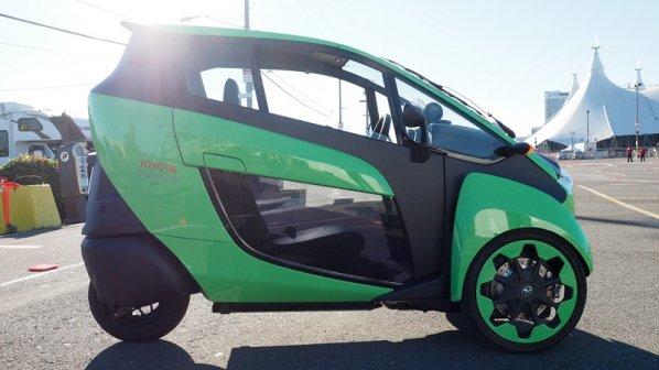 تویوتا آیرود بامزهترین ماشین سه چرخ الکتریکی دنیا