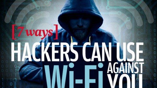 7 روشی که هکرها میتوانند از وایفای بر عليه شما استفاده کنند