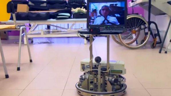 این روبات به معلولان کمک میکند با ذهن خود به گشتوگذار بپردازند