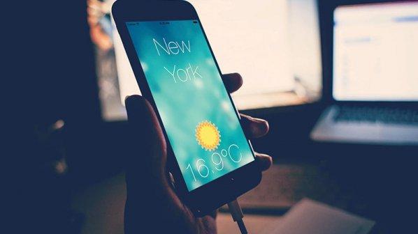 تلفنهای همراهی که وضعیت هوا را پیشبینی میکنند