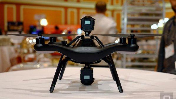 CES 2016: با این دوربین و دِرون ویدوهای 360 درجه واقعیت مجازی بگیرید