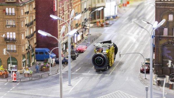 گشت و گذار در مناطق مینیاتوری با دوربينهای کوچک جدید گوگل