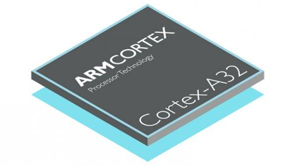 ARM Cortex A32؛ پردازنده کوچکی برای پوشیدنیها و رزبریپای
