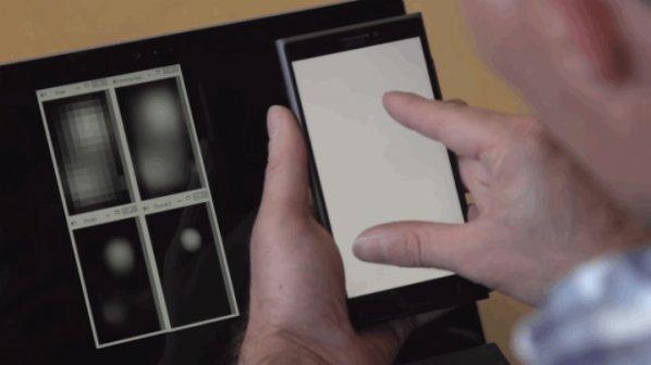 تاچاسکرین جدید مایکروسافت میتواند ذهن شما را بخواند + ویدیو
