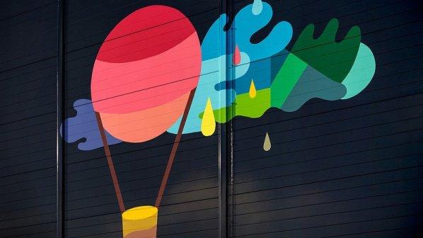 به تماشای نقاشیهای روی مراکز داده گوگل بروید + گالری عکس