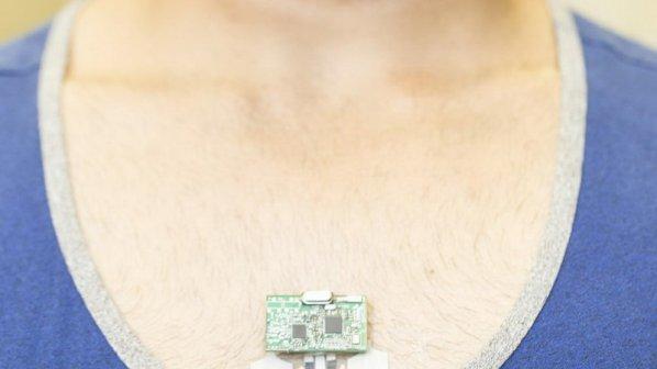 یک وصله کوچک انعطافپذیر که عرق بدن را تجزیه و تحلیل میکند