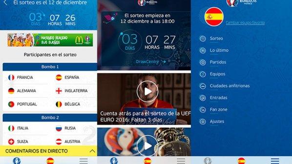 دانلود کنید: اپلیکیشن رسمی مسابقات فوتبال یورو ۲۰۱۶